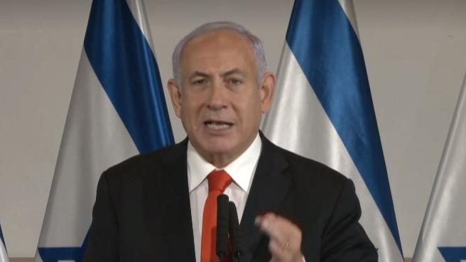 בנימין נתניהו הצהרה מבצע שומר החומות אחרי ירי טילים רקטות על ישראל מ עזה