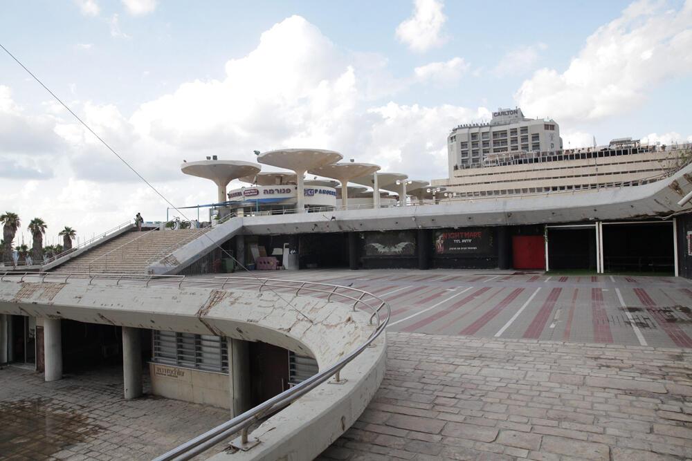 כיכר אתרים חניון אתרים תל אביב