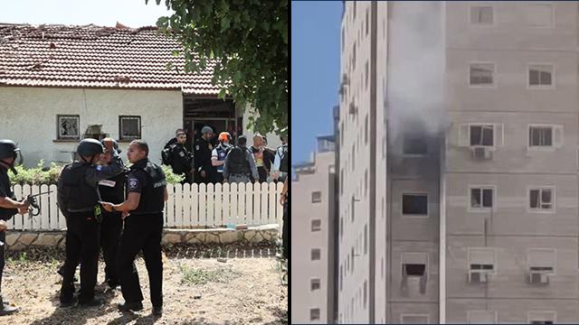 אשקלון שני מבנים שנפגעו מ רקטות מעזה שתי נשים נהרגו מבצע שומר החומות