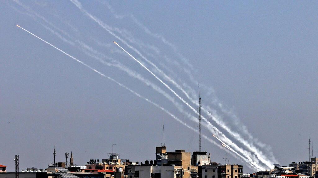 ירי רקטות מרצועת עזה לישראל 11.5.21