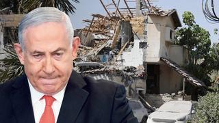 ראש הממשלה בנימין נתניהו ו בית ביהוד שספג פגיעה ישירה