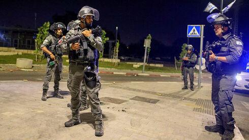 כוחות ביטחון ב לוד, AFP