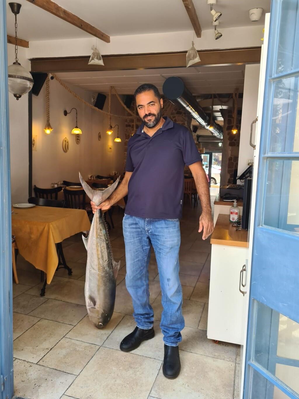 סעיד שאמי בעל מסעדה בעכו שהושחתה על ידי ערבים