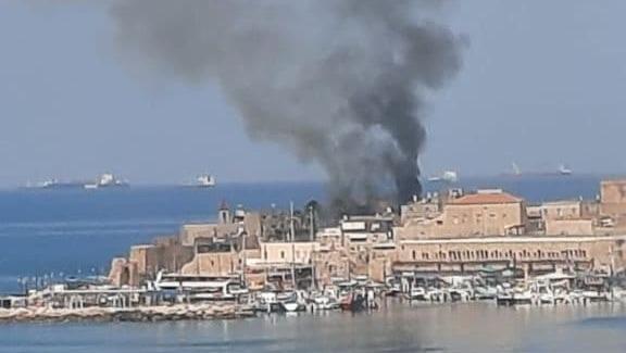 הצתה ב מלון צימרים בעיר העתיקה עכו