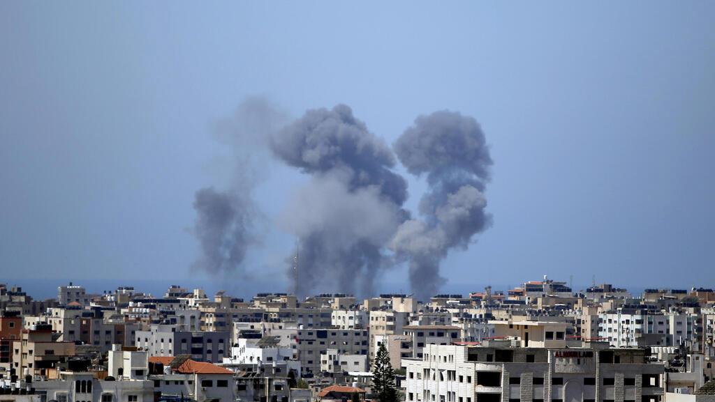 מבצע שומר החומות תקיפות חיל האוויר בעזה