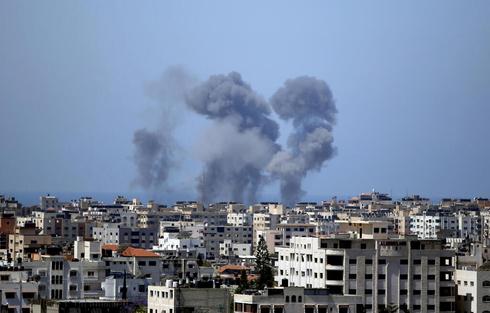 תקיפות חיל האוויר בעזה, צילום: איי פי