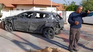 נזקי רקטות באשקלון1, AFP