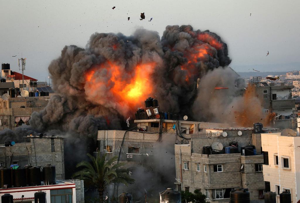 """תקיפה צה""""ל ג'יהאד איסלאמי רצועת עזה מבצע שומר החומות שומר חומות"""