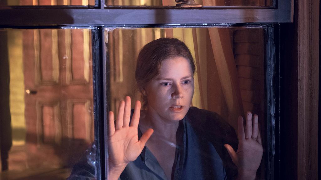 פנאי איימי אדמס מתוך האישה בחלון סדרה