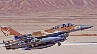 אף-16 של חיל האוויר חמוש בפצצות JDAM , חזי שמואלי