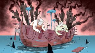 קריקטורה 18.5.21, איור: יונתן וקסמן