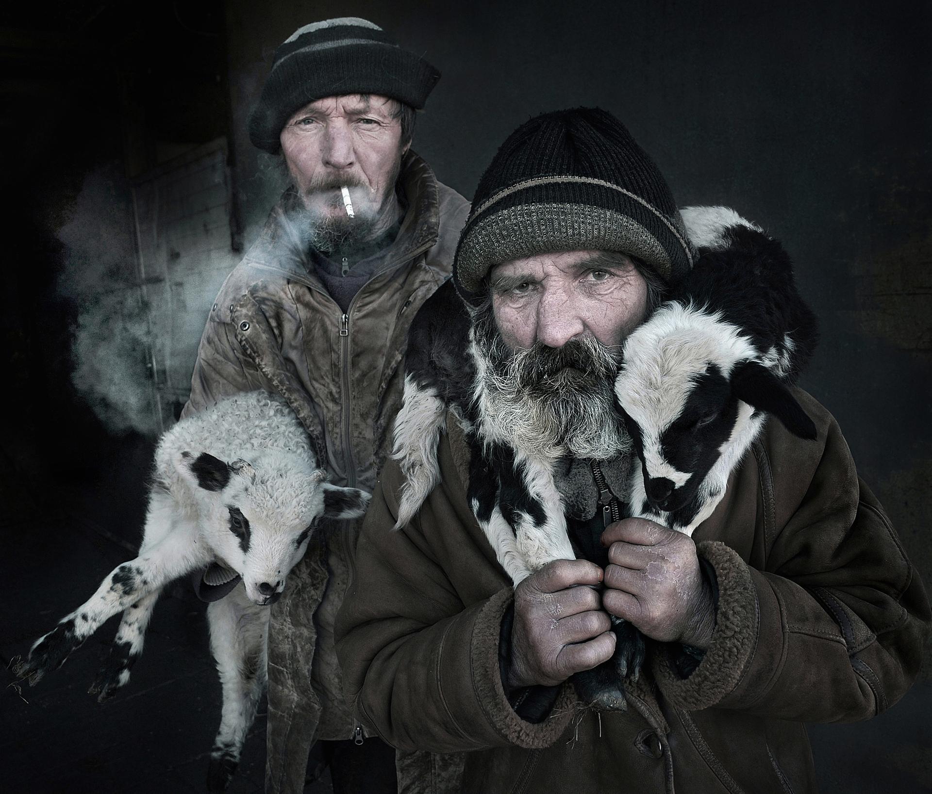 פוטו תחרות צילומי פורטרייט רועי צאן רומניה