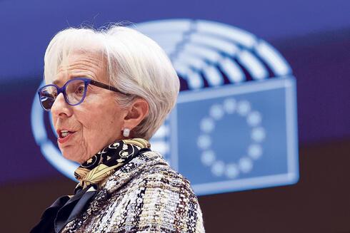 נשיאת הבנק המרכזי האירופי כריסטין לגארד, צילום: איי פי
