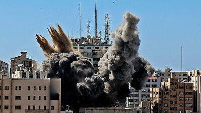 הפצצות בעזה 19.5.21