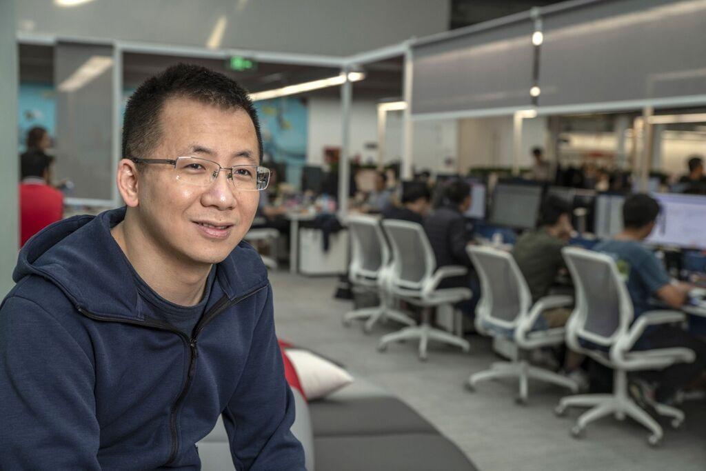 """ז'אנג יימינג Zhang Yiming מייסד ומנכ""""ל בייטדנס טיקטוק טיק טוק"""