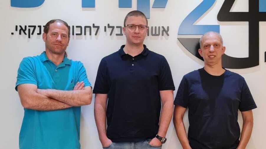 מייסדי קרדיט 24 זיו רוזבך ערן הורוביץ ו אסף יופה