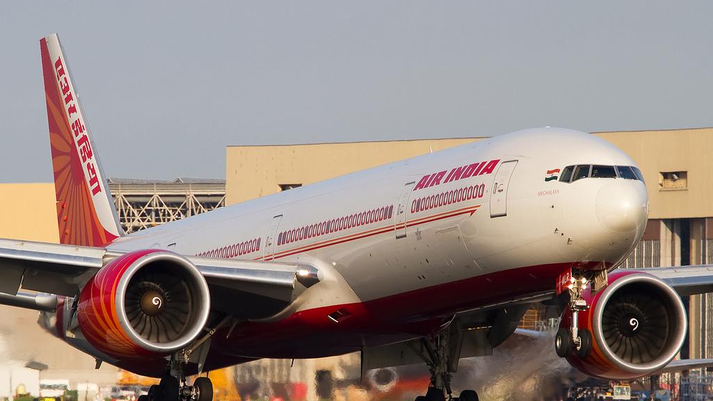 מטוס חברת תעופה אייר אינדיה