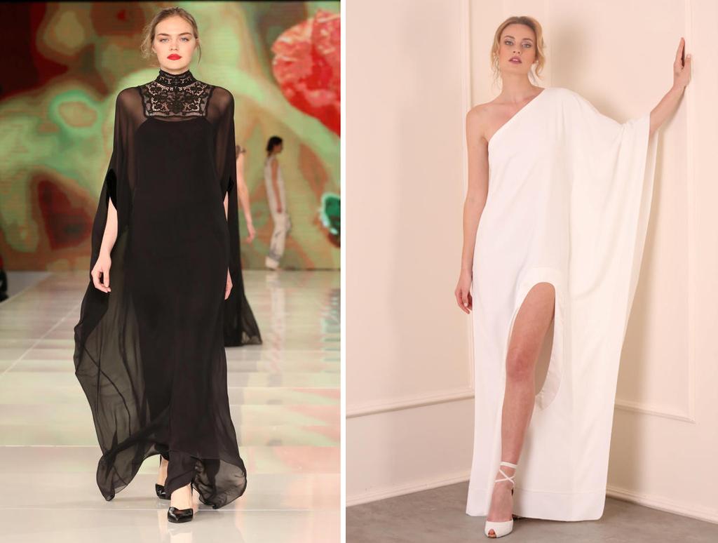 פנאי שמלות ערב בעיצוב תמרה סלם