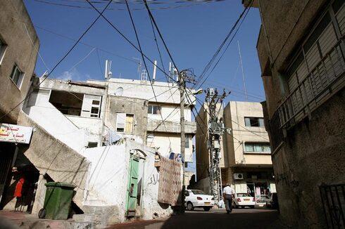 רחוב באום אל פאחם, צילום: ערן יופי כהן