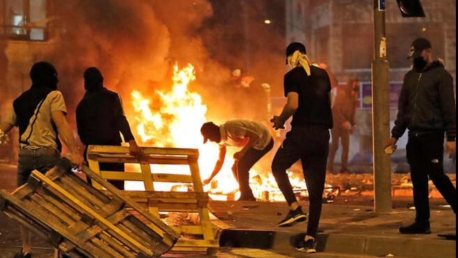 מהומות בלוד, AFP, אלכס קולומויסקי