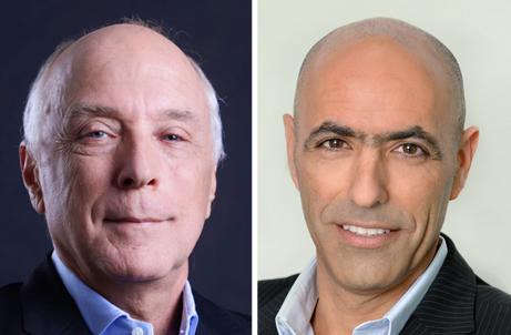 שמעון אבודרהם ואבי יעקובוביץ