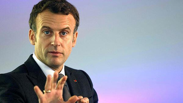 עמנואל מקרון, נשיא צרפת , AFP