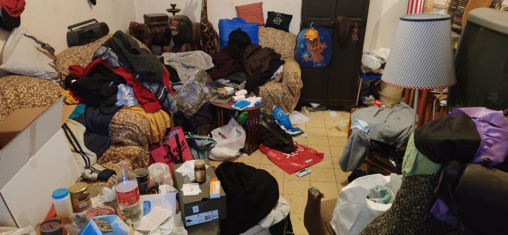 נטייה לאיסוף בגדים וציוד וקושי להיפטר מהם