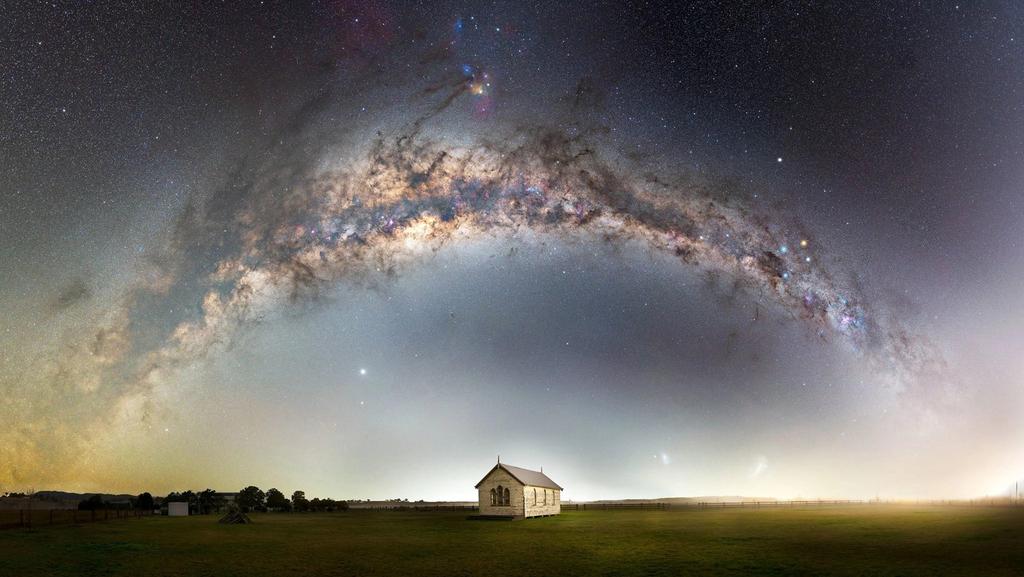 יופיה של הגלקסיה: תמונות מתחרות צילומים של שביל החלב