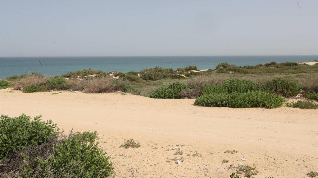 שטח תוכנית אשקלון חוף הים בין אשקלון ניצנים