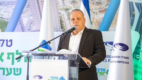ראש העיר תומר גלאם, צילום: דוברות עיריית אשקלון
