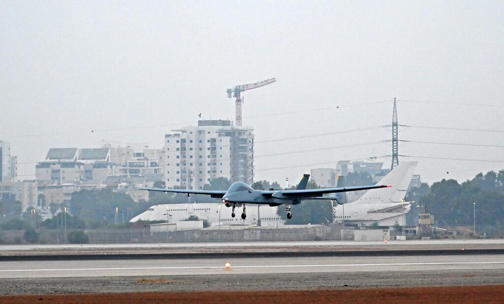 """מל""""ט ה הרון של התעשייה האווירית"""