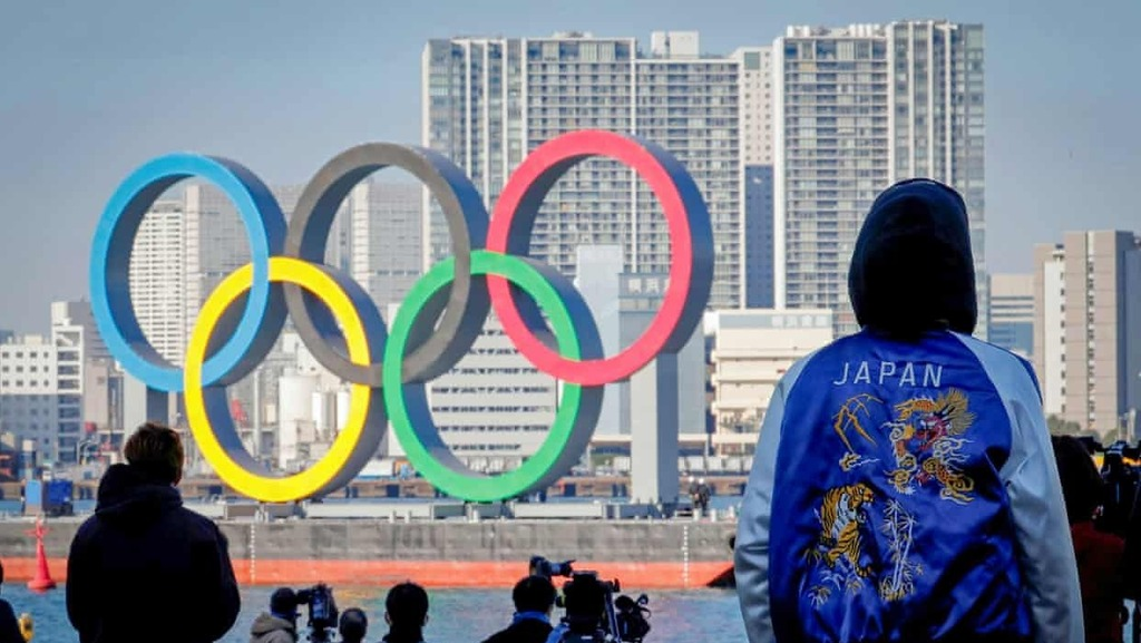 לוגו אולימפיאדה טוקיו יפן