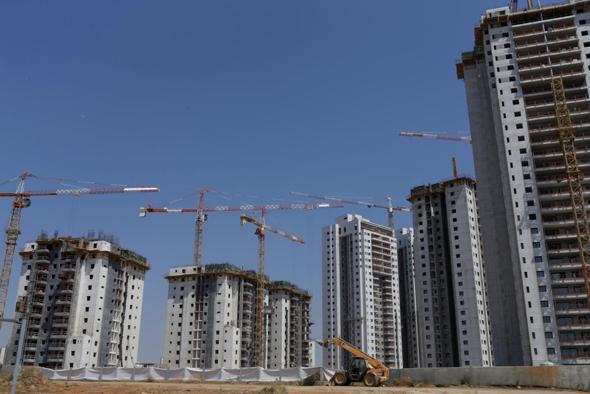 """פרויקט דיור. """"לעודד משקיעים לרכוש דירות כדי לתמרץ את שוק השכירות"""", צילום: עמית שעל"""