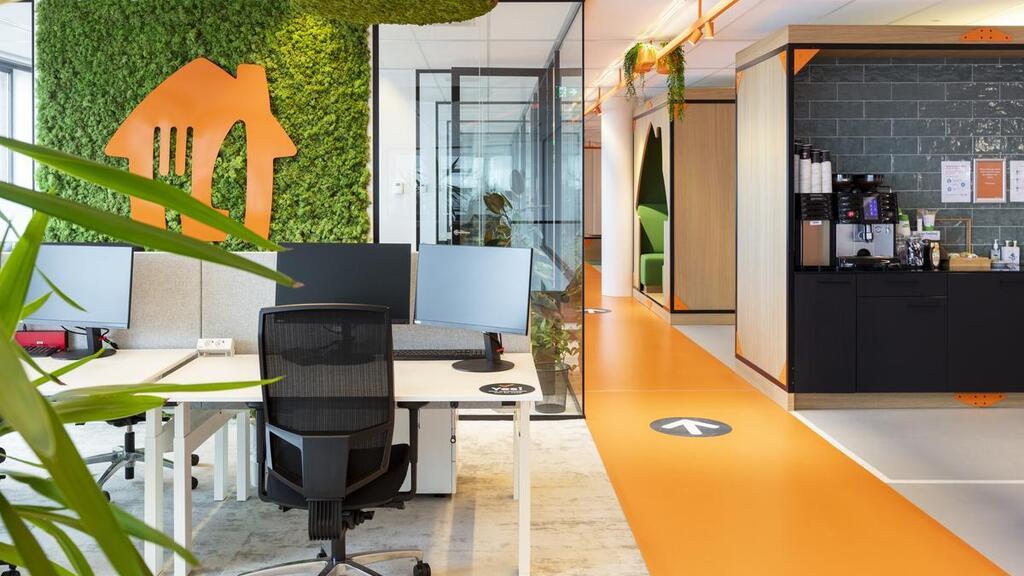 משרדי JUST EAT TAKEAWAY ב הולנד