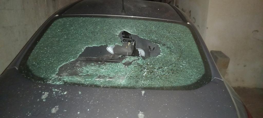 מכוניתו של כתב ynet חסן שעלאן ב טייבה