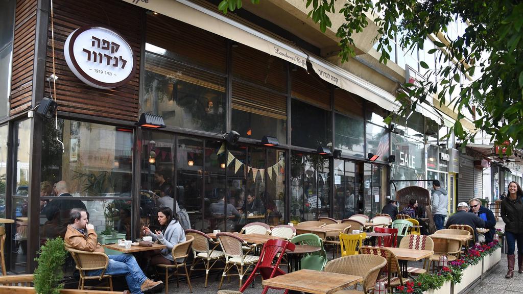 בית קפה לנדוור ב רחוב דיזנגוף ב תל אביב