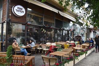 בית קפה לנדוור ב רחוב דיזנגוף ב תל אביב, צילום: יאיר שגיא