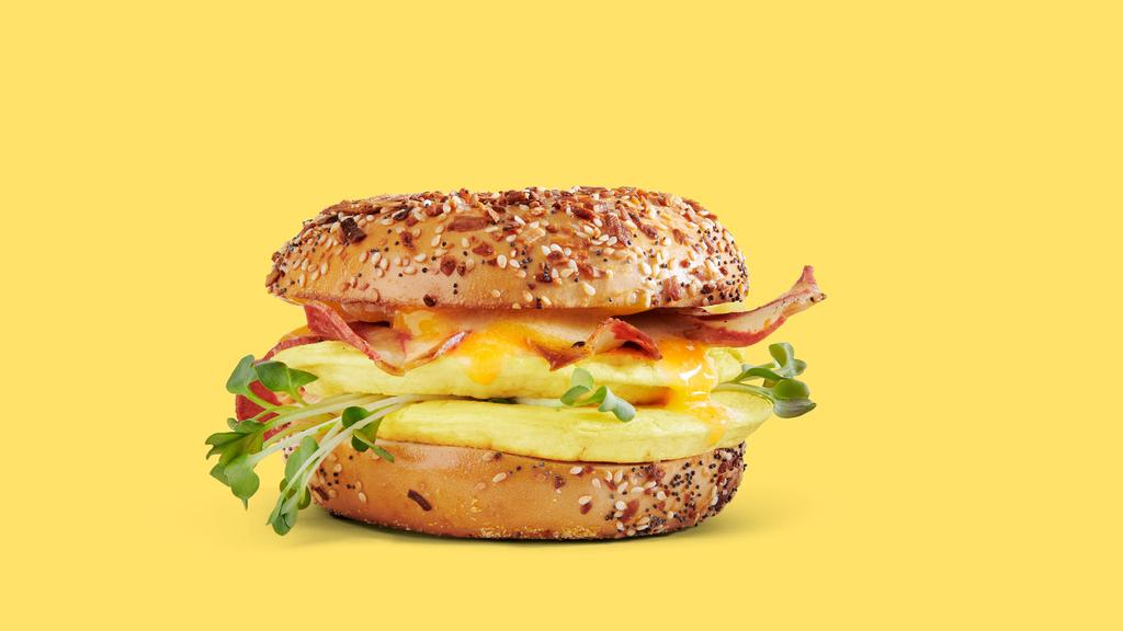 סנדוויץ עם תחליף הביצה של זירו Zero egg