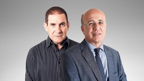 """מימין: משה ברקת, ראש רשות שוק ההון, ויפתח רון טל, יו""""ר מגדל ביטוח המיועד, צילומים: טל שחר, עמית שעל"""
