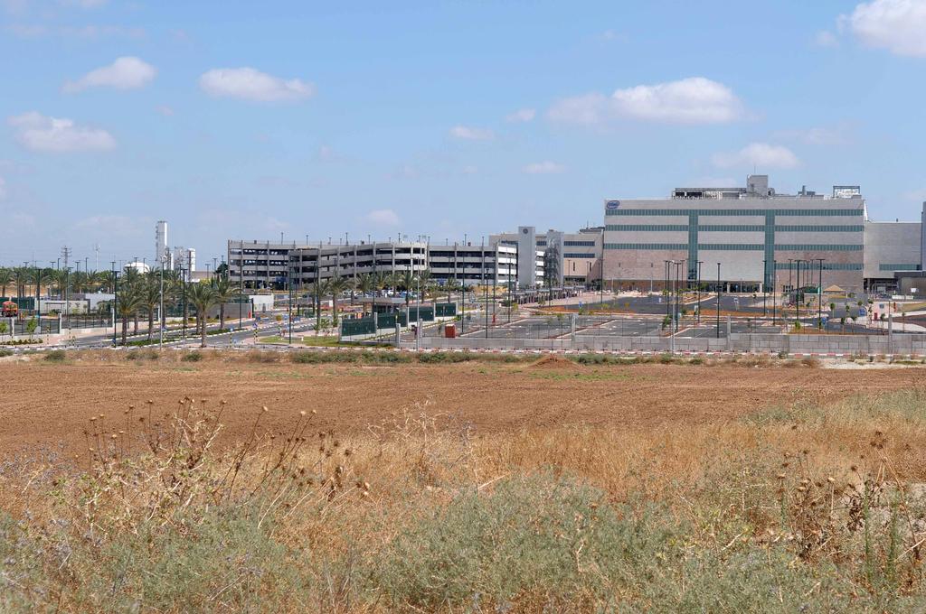 מפעל אינטל ב קרית גת