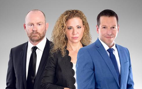 עורכי הדין אייל בסרגליק איתן לירז ומיכל רוזנבוים, צילום: ליאת מנדל, אלעד מלכה, EYAL TOUEG