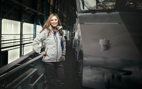 """רוז דאמן מנכ""""לית Damen Yachting, צילום:  אתר החברה"""