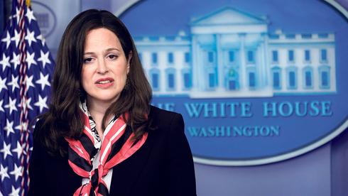 """אן נויברגר, סגנית היועץ לביטחון לאומי של ארה""""ב. """"למגזר הפרטי אחריות עיקרית"""", צילום: בלומברג"""