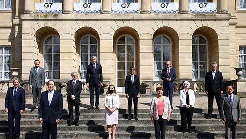 שרי האוצר של מדינות ה-G7 בלונדון, AP