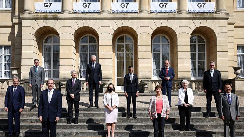 שרי האוצר של מדינות ה-G7 ב לונדון 2021