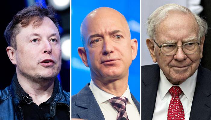 מבאפט ועד בזוס: כך משלמים האנשים העשירים ביותר בארצות הברית מס אפסי