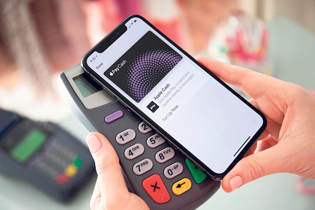 סמארטפון ומסופון תשלום בטכנולוגיית EMV