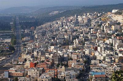 פרדיס יישובים ערביים ערביי ישראל פורידיס