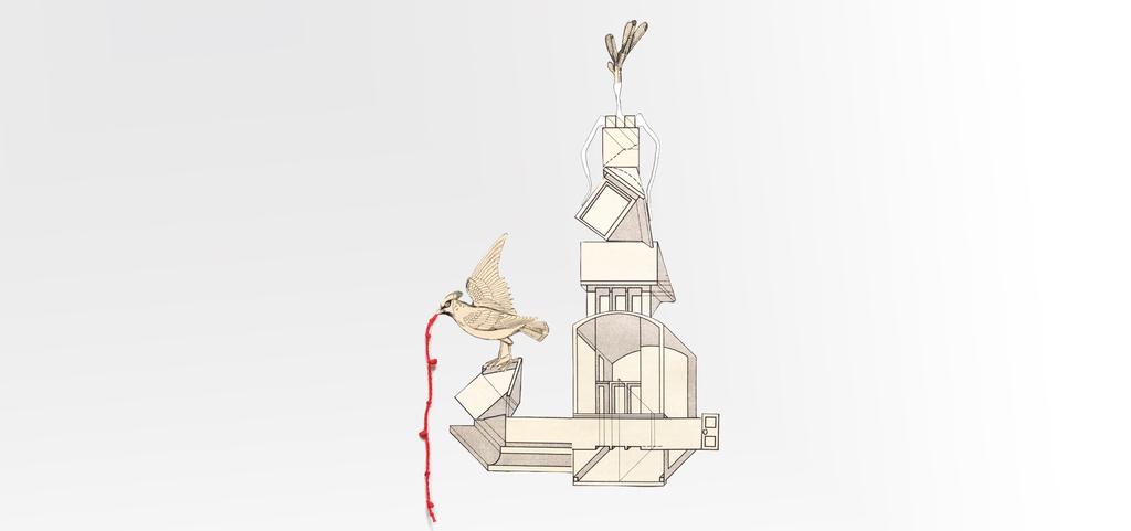 יצירות של נלי אגסי מתוך התערוכה הורוטופיה פנאי 4