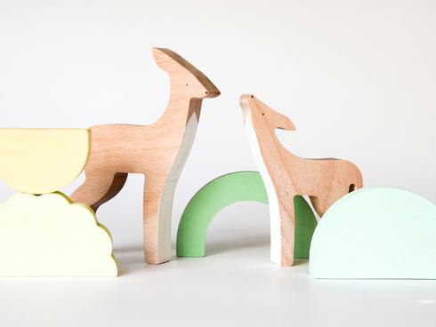 חיות עץ בסטודיו סתיו, צילום: ירון קמינסקי